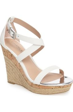 Charles by Charles David Aden Platform Wedge Sandal (Women) available at #Nordstrom