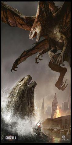 Godzilla by Dominic Lavery