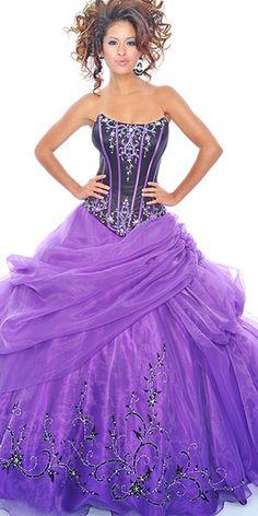 purple my dream prom dress