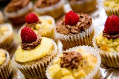 Raspberry Cupcakes with Lemon and Chocolate: A Vere Inspired Cupcake ~ Cupcake Project