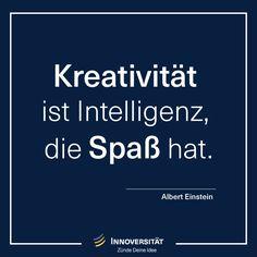 Kreativität macht Spaß - Zünde Deine Idee - Innoversität