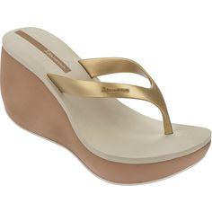 318964402723 Ipanema Flip-flops - Ipanema Lipstick Thong Iv Fem Beige gold (180 QAR