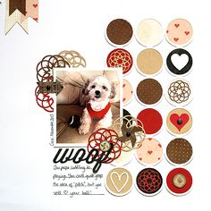 papercraft scrapbook layout Motivated to Scrapbook Dog Scrapbook Layouts, Paper Bag Scrapbook, Scrapbook Sketches, Scrapbook Cards, Scrapbooking Ideas, Picture Scrapbook, Scrapbook Designs, Kids Craft Box, Bridal Shower Scrapbook