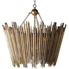 Aidan Gray Lighting Crown & Glory Chandelier ($1,500) ❤ liked on Polyvore featuring home, lighting, ceiling lights, aidan gray lighting, twig lamp, aidan gray lamps, twig chandelier and aidan gray