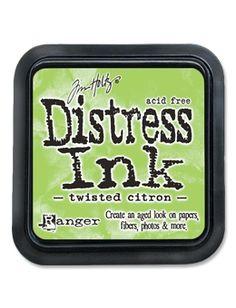 Tim Holtz Distress Ink Pad TWISTED CITRON Ranger TIM43294