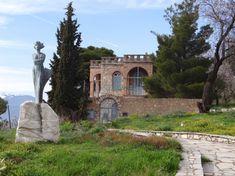 Φωκίδα-Δελφοί-Μουσείο Δελφικών Εορτών Σικελιανού-Το σπίτι του 'γγελου και της Εύας Σικελιανού μετατράπηκε σε Μουσείο Δελφικών Εορτών, τιμώντας έτσι τις εκδηλώσεις που οργάνωσε το ζεύγος το 1927 και το 1930.