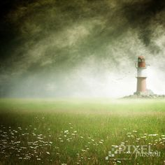 the lighthouse by Pixel Passion, via 500px