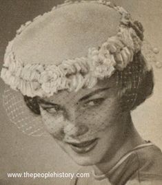 Flowered Pillbox 1959