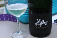 Bad to the Bones Bubbles from Tarara Winery #VaWine #DCsWineCountry