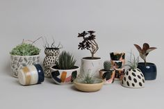 Bursting with creativity and talent, Weak End Club is a Sydney based cross disciplinary design practice currently working in ceramics.Graphic designers, Mark Trzopek & Dana Rogers set up the studio for their ceramic side project; Each piece is crafted, moulded, glazed and stamped before being taken to the kiln. The WEC collection comprises of functional ceramic form-focused objects including planters, bowls, vases, vessels and trays.