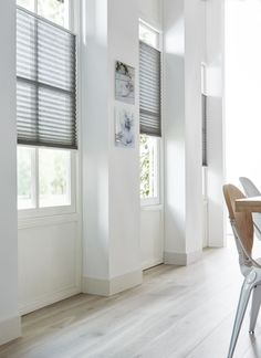 NL Label | Basic en Puur | XXL 100 laminaat (Alphen) | Plissé 5032 Window Shutters, Blinds For Windows, Happy New Home, Interior Windows, Farmhouse Windows, Scandinavian Interior, Window Coverings, Future House, Home Remodeling
