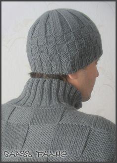 El gorro de hombre Baby Booties Knitting Pattern, Knitting Paterns, Knitting Designs, Baby Knitting, Crochet Beanie, Knitted Hats, Knit Crochet, Crochet Hats, Men's Beanies