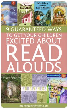 9 Guaranteed Ways to Get Your Children Excited About Read-Alouds