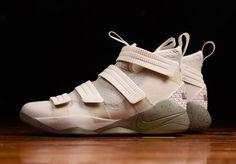 Nike LeBron Soldier 11 Light Bone Dark Stucco Release Date 897646-005 | Sole Collector