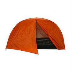 """Star-Lite 2-Person Tent - Trail Weight: 5.5 lbs. - Packed size: 13""""X5"""" - 1 Door. - Interior Area: 41.25 sq. ft. - Peak Height:44"""" - Floor Material: 190T polyester, 2000mm P.U. coated - Mesh: No-see-um - Number of poles: 2 shock corded fiberglass 8.5 mm. - Pole sections: 12"""" lengths. - Rainfly Included."""