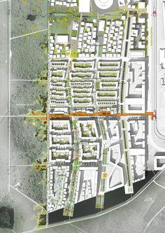 Transform gewinnen Wettbewerb in Kopenhagen / Neue Pläne für Örestad - Architektur und Architekten - News / Meldungen / Nachrichten - BauNetz.de