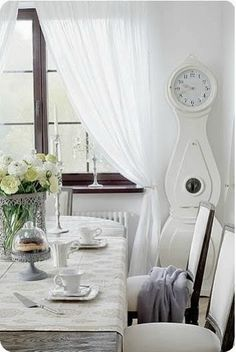 simply vintageous...by Suzan: Swedish Grandfather Clocks ( LET'S ROCK AROUND THE CLOCK )