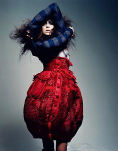 Craig McDean - grunge fashion- Vogue France