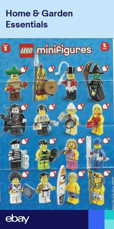 NEW LEGO MINIFIGURE SERIES /& PACKET SIMPSONS SERIES 1 /& 2 PICK 1 YOU WANT