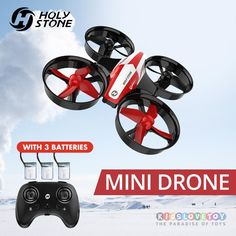 Limited Price of Holy Stone Mini RC Drone Toy Headless Drones Mini RC Quadrocopter Quadcopter Dron One Key Land Auto Hovering Helicopter Drone Technology, Technology World, Rc Drone, Drone Quadcopter, Drone Mini, Latest Drone, Drone For Sale, Just For Today, Remote Control Toys