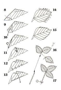 927 fantastiche immagini su Origami Flowers & Plantas nel