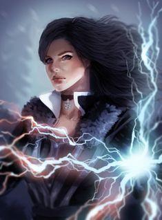The witcher 3: Yennefer by atutcha.deviantart.com on @DeviantArt - More at https://pinterest.com/supergirlsart/ #witcher3 #yennefer #sorceress #fantasy #fanart #witcher