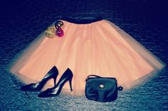 Peach handmade classic tulle skirt. Order by message or visit my shop https://www.facebook.com/cheremyha.store