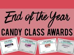 This package comes with a total of 29 Candy/Snack related awards for an End of the Year Awards ceremony. Click on the preview to see a close-up selection of some of the award options!When purchasing this resource - you will find both options of either a textured (more professional looking) background or a plain white background to save on that ink!!Each award has editing rights to be able to add in names and dates, but all main details will remain constant.