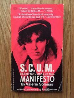 S.C.U.M. society for Cutting up Men - Solonas, Valerie
