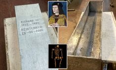 Richard III Re-Buried-The remains of Richard III have been sealed inside a lead-lined coffin ahead of his reburial next week - 530 years after he died. The last Plantagenet king will be buried in Leicester Cathedral.