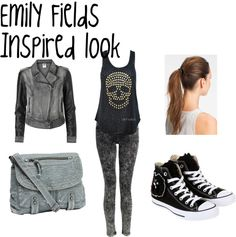 """""""Emily Fields(Shay Mitchell) Pretty Little Liars Inspired Look"""" by rebecca-fitzpatrick on Polyvore"""