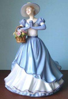 Royal Doulton HAPPY BIRTHDAY Pretty Ladies Figurine 2011