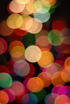 The Annual Out Of Focus Tree Light Bokeh Thing  By Gamma Infinity