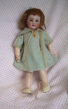 Ancienne Poupee Porcelaine Unis France 1 Bleuette Antique Doll 27cm Circa 1925   eBay