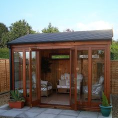 Check out the site press the grey link for even more choices ~ metal outdoor storage sheds Backyard Gym, Backyard Storage Sheds, Backyard Studio, Backyard Retreat, Studio Shed, Cedar Pergola, Modern Shed, Privacy Landscaping, Roof Styles
