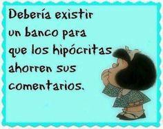 Mafalda...jaja..muy conveniente sería!