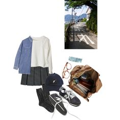 SKIT : One night in a strange city by merlina-m on Polyvore featuring moda, Boutique, American Eagle Outfitters and See You Never