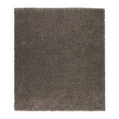 SKÅRUP Rug, high pile IKEA Long-fiber wool gives the rug a natural sheen. grey rug living room