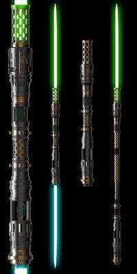 Lightsaber Forms, Sith Lightsaber, Lightsaber Design, Custom Lightsaber, Star Wars Characters Pictures, Star Wars Pictures, Star Wars Images, Guerra Dos Clones, Jedi Cosplay