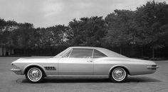 1963 styling prototype for the 1965 Chevrolet Impala SS Chevrolet Corvette Stingray, Chevrolet Bel Air, Chevrolet Impala, Chevy, Pontiac, Automotive Design, Auto Design, Futuristic Cars, Car Pictures