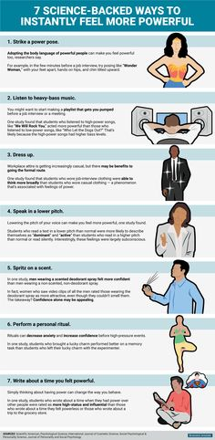 Tips that boost your confidence!