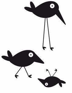 Frode the bird # wallsticker.