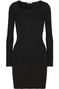 Helmut Lang HELMUT Helmut Lang slit-back stretch-knit dress