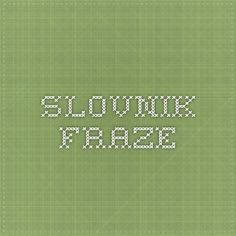 slovnik_fraze France, French Language, Places, French People, French, Lugares