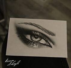 Eye Drawing By Kenn Skogli