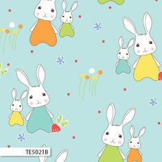 Spring Bunnies in pink is from the Bunny Trail fabric collection by Jodie Carleton for Ella Blue. Cotton Blossom, Blue Bunny, Baby Bunnies, Happy Colors, Blue Fabric, Bunny Rabbit, Printing On Fabric, Pikachu, Hello Kitty