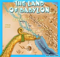The Land of Babylon in Bible Times
