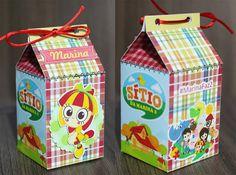 caixa milk Emília - Sítio do pica pau amarelo