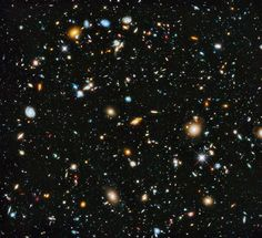 Astronomers using NASA's Hubble Space Telescope assembled a comprehensive picture of the evolving universe -- among the most colorful deep space images ever captured by the 25-year-old telescope. The image was released on June 3, 2014.