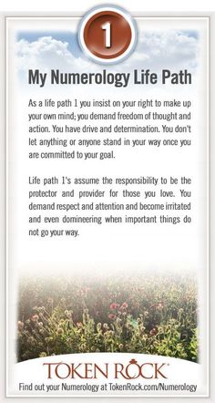 My #Numerology Life Path #1 anyone else ever feel like they never match/live up to their numbers and sign?
